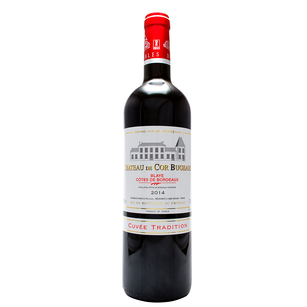 GRAND VIN Chateau de Cor Bugeaud tinto 2017