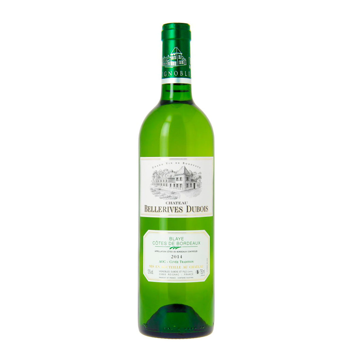 GRAND VIN Chateau Bellerives branco 2018
